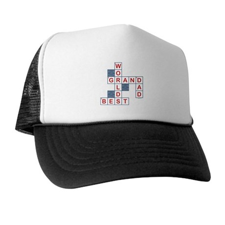 Crossword Grandpa Trucker Hat