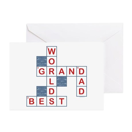 Crossword Grandpa Greeting Cards (Pk of 20)