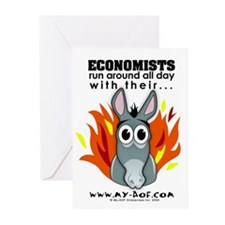 Economists Greeting Cards (Pk of 10)