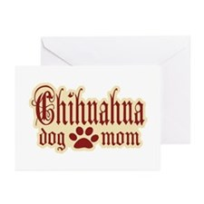 Chihuahua Mom Greeting Cards (Pk of 20)