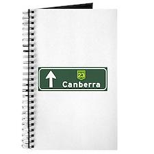 Canberra, Australia Hwy Sign Journal