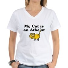 My Cat Is An Atheist Shirt