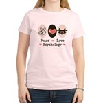 Peace Love Psychology Women's Light T-Shirt