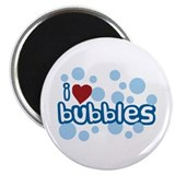I Love Bubbles Magnet