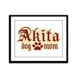 Akita Mom Framed Panel Print