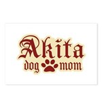 Akita Mom Postcards (Package of 8)