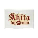 Akita Mom Rectangle Magnet (100 pack)