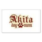 Akita Mom Sticker (Rectangle 50 pk)