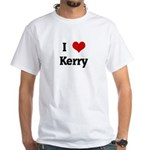 I Love Kerry White T-Shirt