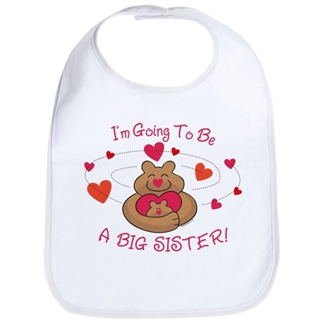 Bear Hug Future Big Sister Bib