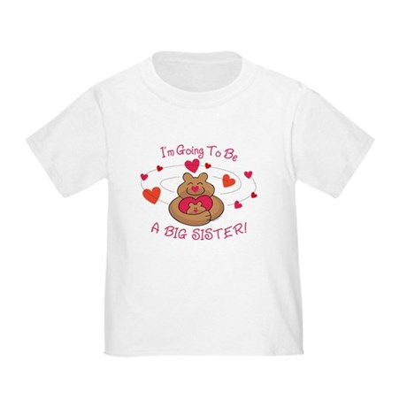 Bear Hug Future Big Sister Toddler T-Shirt