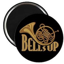 Bells Up Horn Magnet