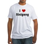 I Love Sinigang Fitted T-Shirt