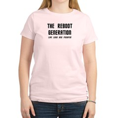 Reboot Generation Trek Women's Light T-Shirt
