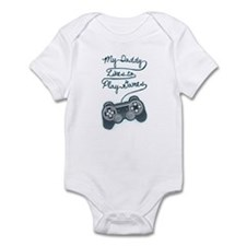 Daddy Plays Game Onesie