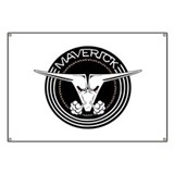Maverick Head Banner