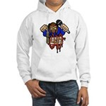 Youth in Asia graffitti logo Hooded Sweatshirt