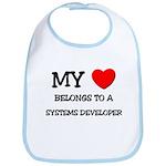 My Heart Belongs To A SYSTEMS DEVELOPER Bib