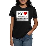 My Heart Belongs To A SYSTEMS DEVELOPER Women's Da