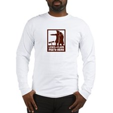 Funny Pee Long Sleeve T-Shirt