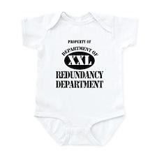 Dept of Redundancy Dept Infant Bodysuit