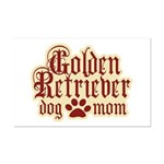 Golden Retriever Mom Mini Poster Print