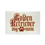 Golden Retriever Mom Rectangle Magnet