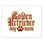 Golden Retriever Mom Small Poster