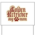 Golden Retriever Mom Yard Sign