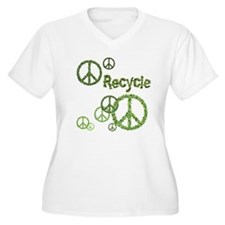 Recycle Peace Sign T-Shirt