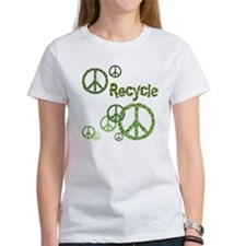 Recycle Peace Sign Tee