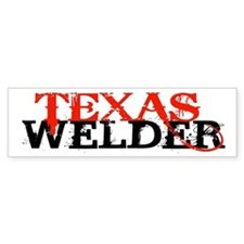 Texas Welder Bumper Bumper Sticker
