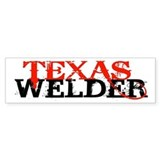Texas Welder Bumper D&#233;calcomanies auto
