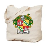 Egan Coat of Arms Tote Bag