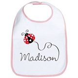 Ladybug Madison Bib