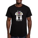 Lesbian Wedding I Do Men's Fitted T-Shirt (dark)