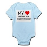 My Heart Belongs To A SPEECH PATHOLOGIST Onesie
