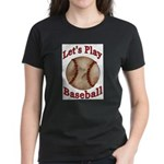 Baseball Women's Dark T-Shirt