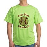 Baseball Green T-Shirt