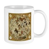Vintage Celestial Map Small Mugs