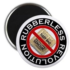 Rubberless Revolution Magnet