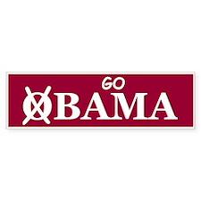 Go Alabama Bumper Sticker (10 pk)