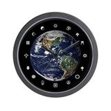 World Religions Wall Clock