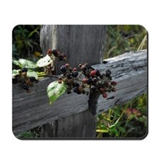 Fence Berries Mousepad