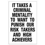 35x23 Criminal Mentality Poster