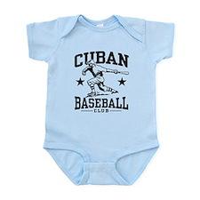 Cuban Baseball Infant Bodysuit