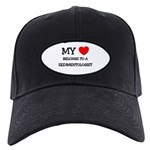 My Heart Belongs To A SEDIMENTOLOGIST Black Cap