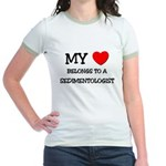 My Heart Belongs To A SEDIMENTOLOGIST Jr. Ringer T