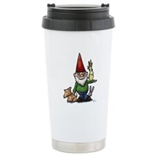 Fauna Gnome Ceramic Travel Mug