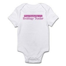 Grandmother of a Sociology Te Infant Bodysuit